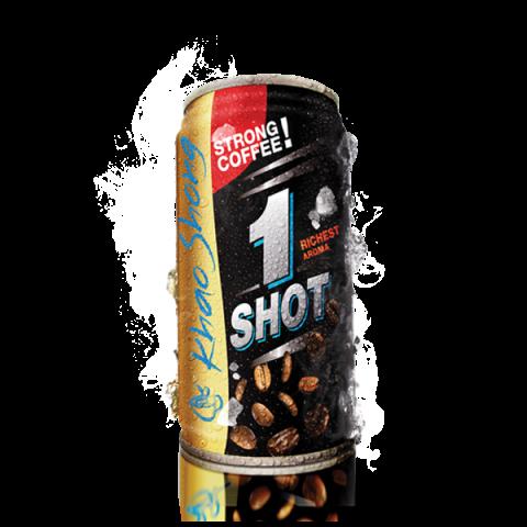 Khao Shong Ready-to-Drink Coffee 1-SHOT : Khao Shong Ready-to-Drink Coffee 1-SHOT / Price 15.00 THB