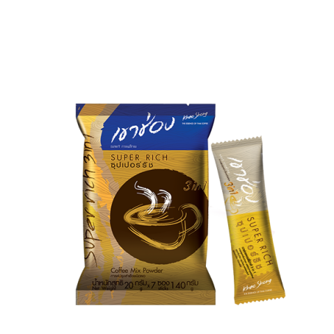 Khao Shong Coffee Mix 3in1 Super Rich : Khao Shong Coffee Mix 3in1 Super Rich / 20 g.x7sticks