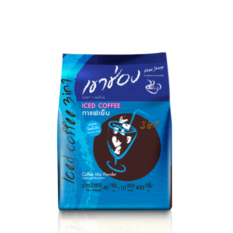 Khao Shong Coffee Mix 3in1 Iced Coffee : Khao Shong Coffee Mix 3in1 Iced Coffee /  40 g x 10 sticks / Price 79.00 THB