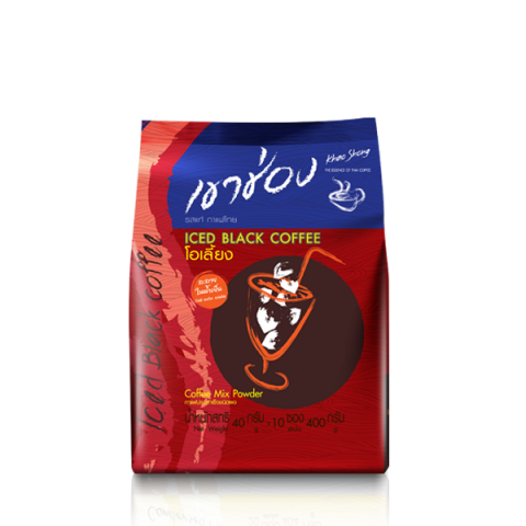 Khao Shong Coffee Mix Iced Black Coffee (O-Liang) : Khao Shong Coffee Mix Iced Black Coffee (O-Liang) / 40 g x 10 sticks / Price 59.00 THB
