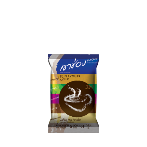 Khao Shong Coffee Mix 3in1 Coffee Mix Powder 5 Flavours : Khao Shong Coffee Mix 3in1 Coffee Mix Powder 5 Flavours / 5 sticks / Price 27.00 THB