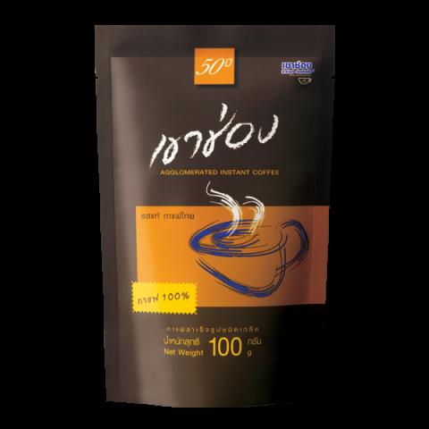 กาแฟสำเร็จรูปชนิดเกล็ด สูตร 1 (กาแฟ 100%) / 100 กรัม / ราคา 69.00 บาท