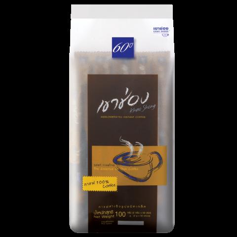 กาแฟสำเร็จรูปชนิดเกล็ด สูตร 1 (กาแฟ 100%)  / 2 กรัมx50ซอง / ราคา 82.00 บาท