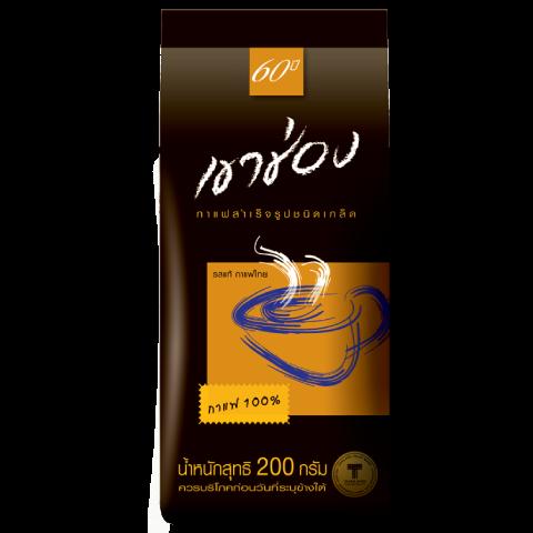 กาแฟสำเร็จรูปชนิดเกล็ด สูตร 1 (กาแฟ 100%) / 200 กรัม / ราคา 130.00 บาท