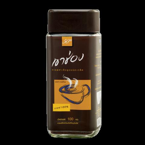 กาแฟสำเร็จรูปชนิดเกล็ด สูตร 1 (กาแฟ 100%)  / 100 กรัม / ราคา 79.00 บาท