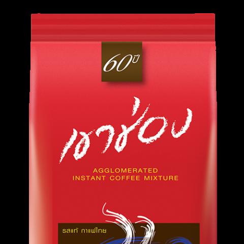 กาแฟสำเร็จรูปชนิดเกล็ด สูตร 2 (กาแฟผสมคาราเมล) : กาแฟสำเร็จรูปชนิดเกล็ด สูตร 2 (กาแฟผสมคาราเมล) / 200 กรัม  / ราคา 112.00 บาท