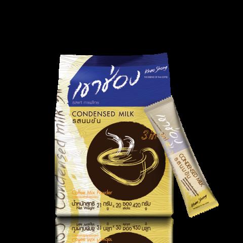 高崇三合一炼乳风味 : 考胜咖啡三合一的炼乳味 / 21 g x 20 sticks/ Price 99.00 THB